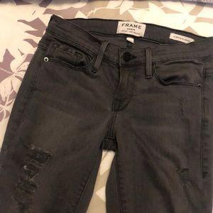 FRAME grey jeans